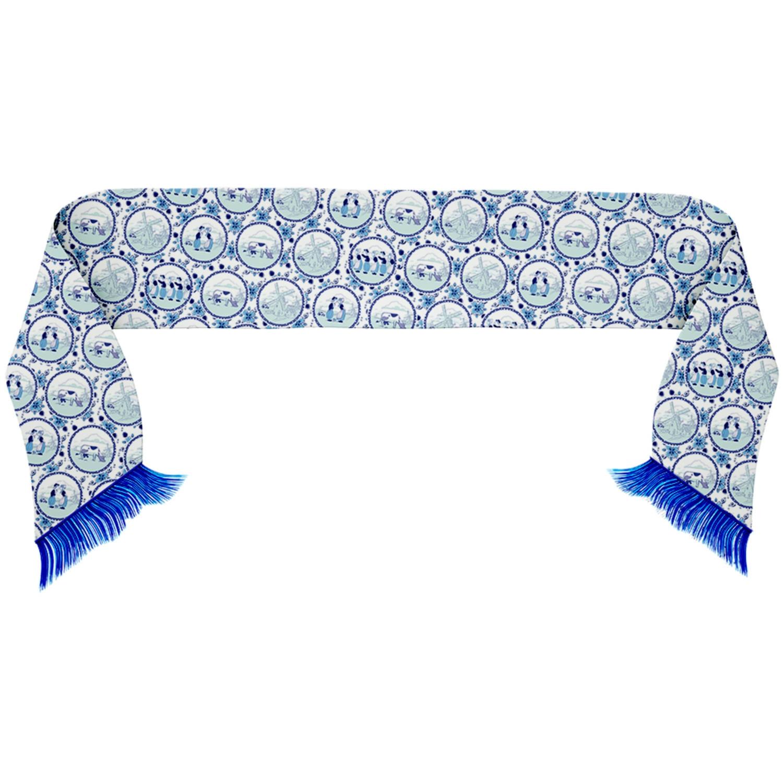 Sjaal Delfts Blauw Holland