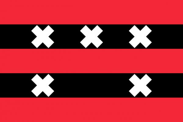 Grote vlag Ouder-Amstel