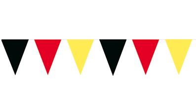 Vlaggenlijn Duitsland met duitse wimpels 10m