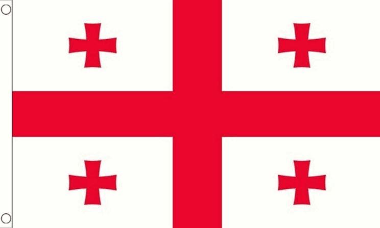 Georgie vlag   vlag Georgische 90x150cm Best Value
