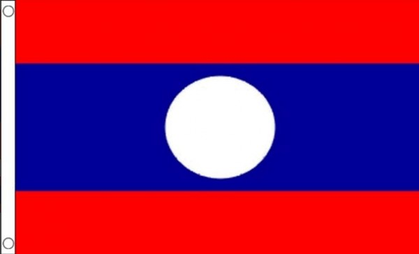 Vlag Laos 60x90cm