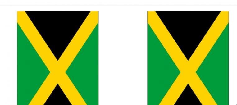 Vlaggenlijn Jamaica Jamaicaanse vlaggenlijnen 3m