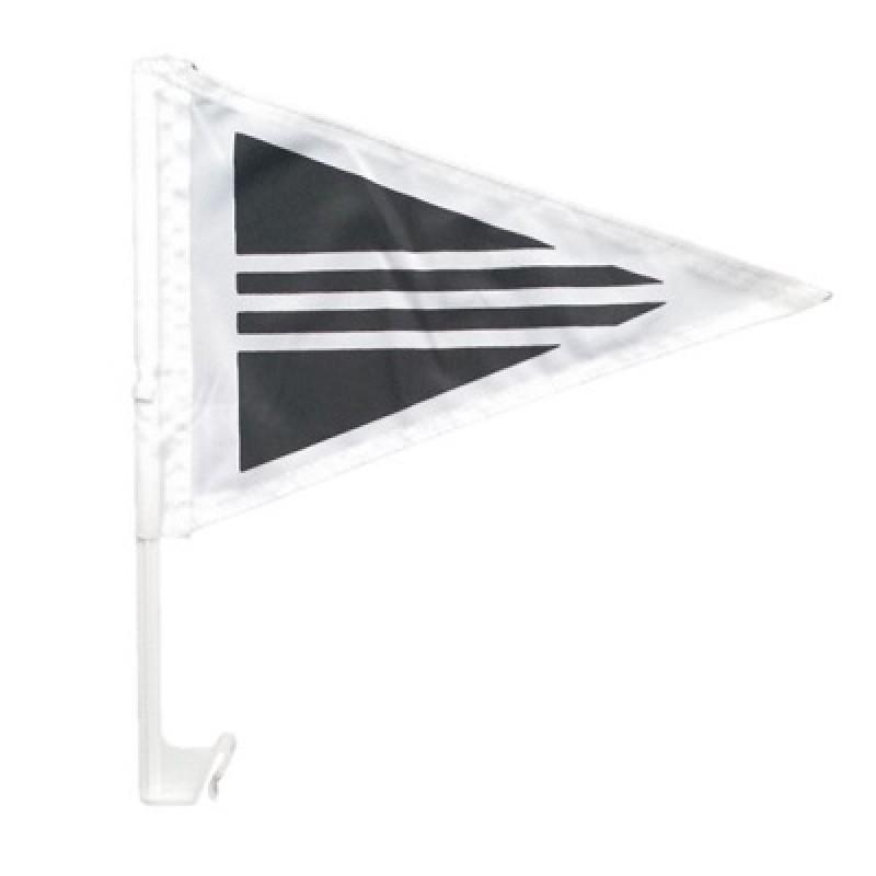 Rouwstoet vlag autovlag
