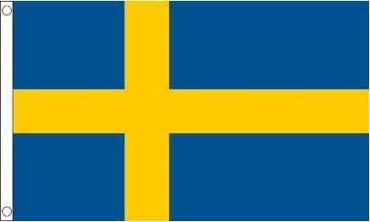Zweedse vlag Zweden 90x150cm Best Value