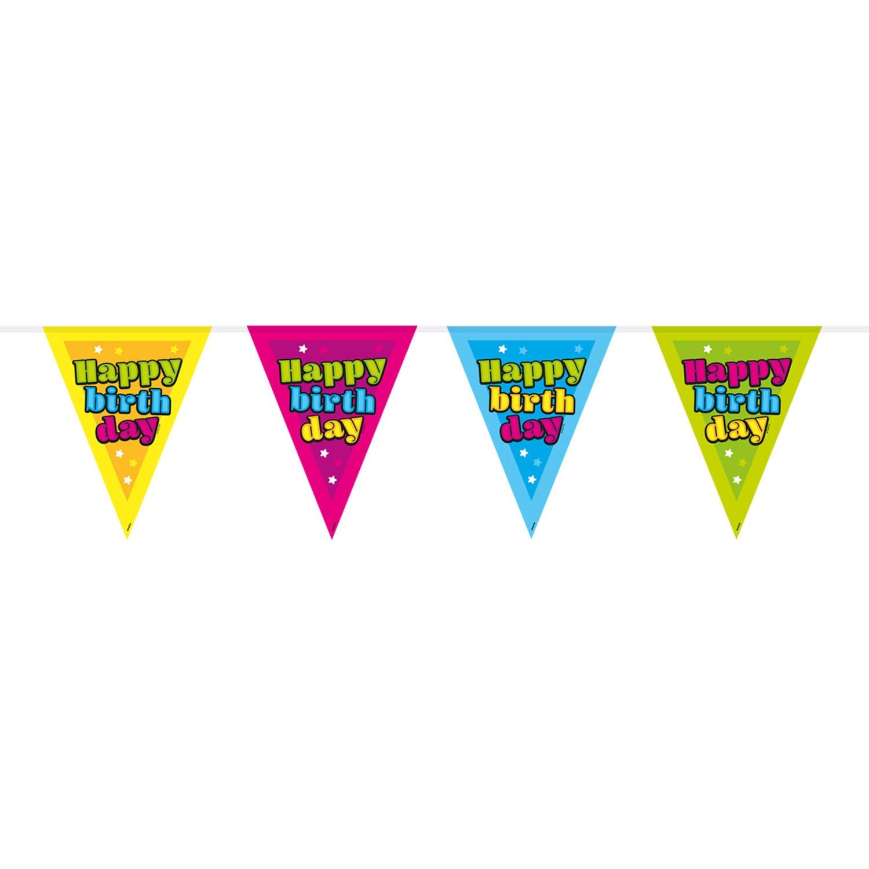 Vlaggenlijn HAPPY BIRTHDAY 10m