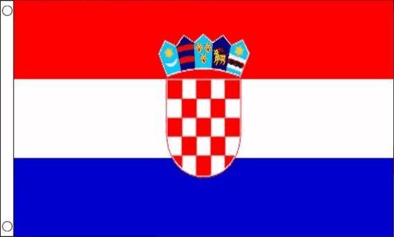 Kroatische vlag | vlag van Kroatië 90x150cm Best Value