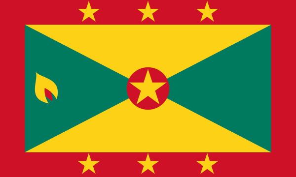 vlag Grenada | Grenadaanse vlaggen 30x45cm