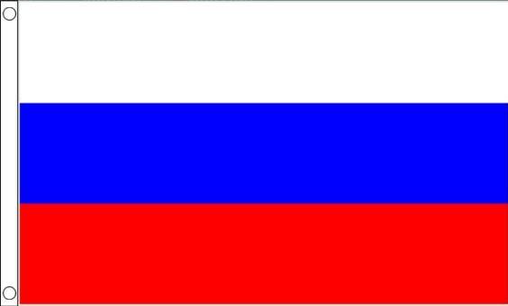 Russische vlag | vlaggen Rusland 90x150cm Best Value