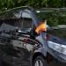 autovlagstandaard luxe voor motorkap montage mercedes Vito