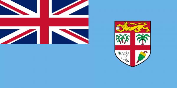 Vlag Fiji 100x150cm Glanspoly