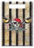 Uitdeelzakjes feestzakjes Red Pirate 8 stuks