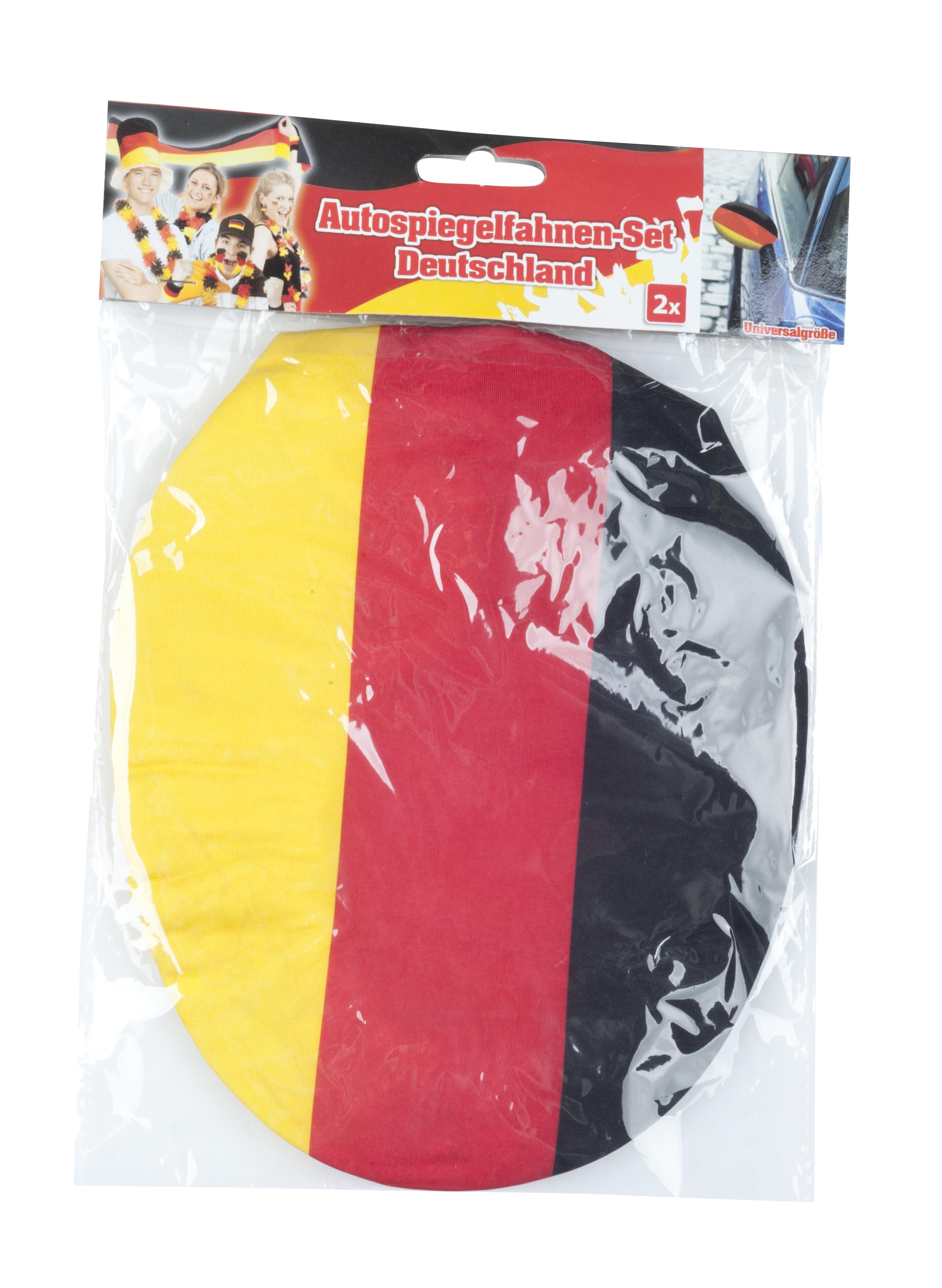 autospiegel hoes Duitse vlag set van 2 stuks