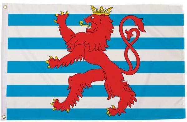 Vlag Luxemburg met wapen 90x150cm Best Value