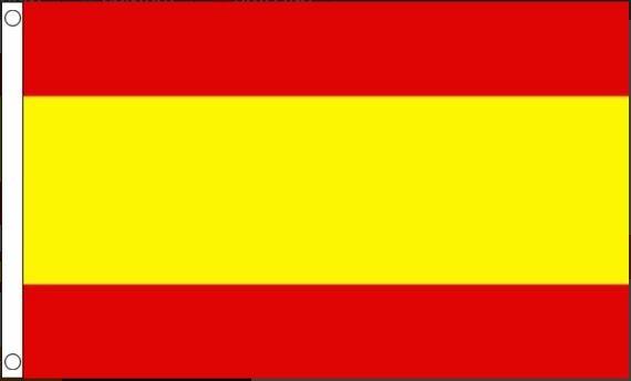 Spaanse vlag Spanje 90x150cm Best Value