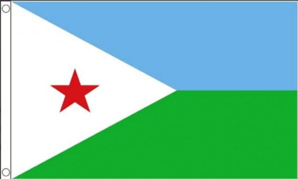 Vlag Djibouti | Djiboutiaanse vlaggen 90x150cm Best value