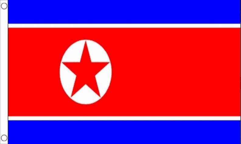 Noord-Koreaanse vlag | vlaggen Noord-Korea 90x150 Best Value