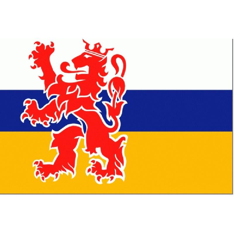 vlaggetje Limburgse vlag 10x15cm