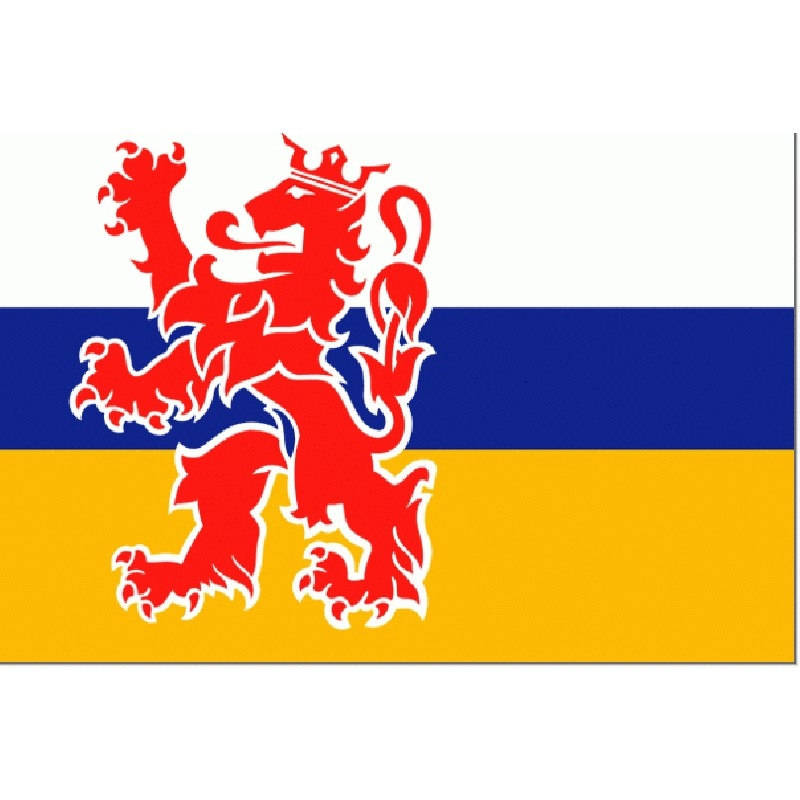 Limburgse vlag | vlaggetje Limburg 10x15cm