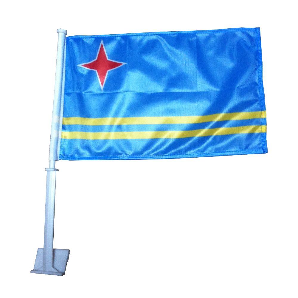 Autovlag Aruba Arubaanse Autovlaggen Luxe