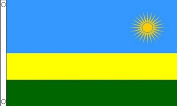 Vlag Rwanda 60x90cm