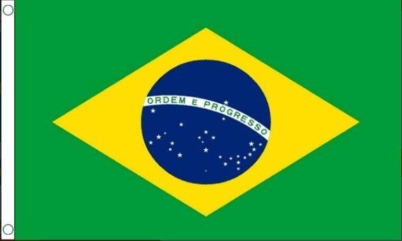 Vlag Brazilië 60x90cm Best Value