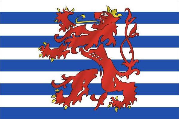 Vlag Luxemburg koopvaardij 20x30cm