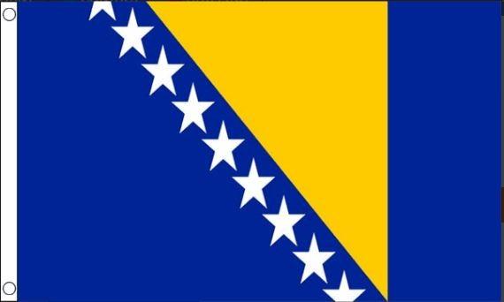Bosnische vlag Bosnië en Herzegovina 90x150cm Best Value