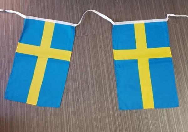 Vlaggenlijn Zweden 10m XL