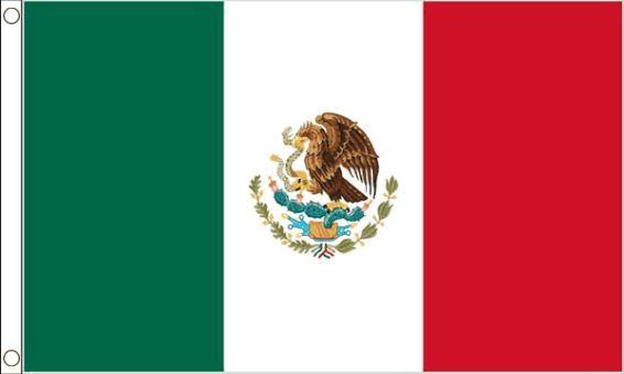 vlag Mexico | Mexicaanse vlaggen 90x150cm Best Value
