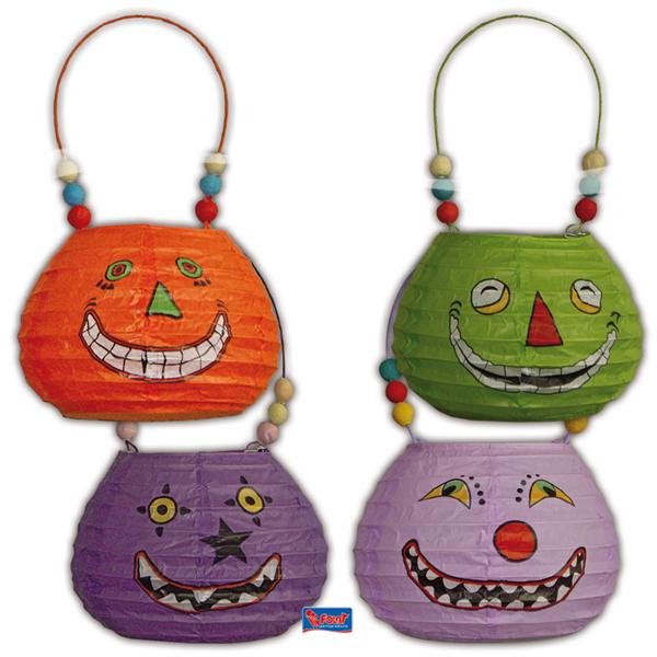Halloween Lampionnen Heksen Tas in 4 varianten