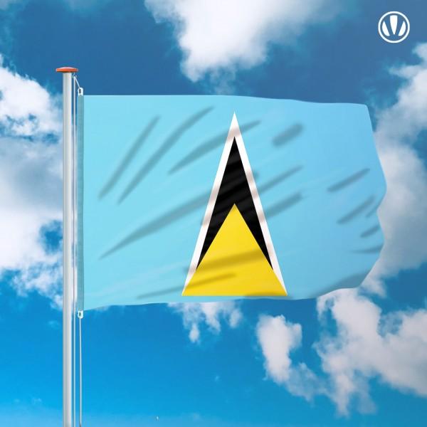 Mastvlag Saint Lucia