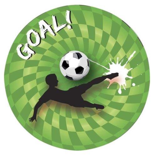 Borden Voetbal Bordjes Goal papier