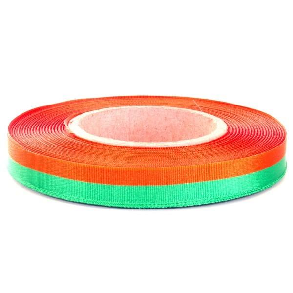 Medaillelint Oranje Groen Nijmeegse Vierdaagse   lint kruikenstad 25mm