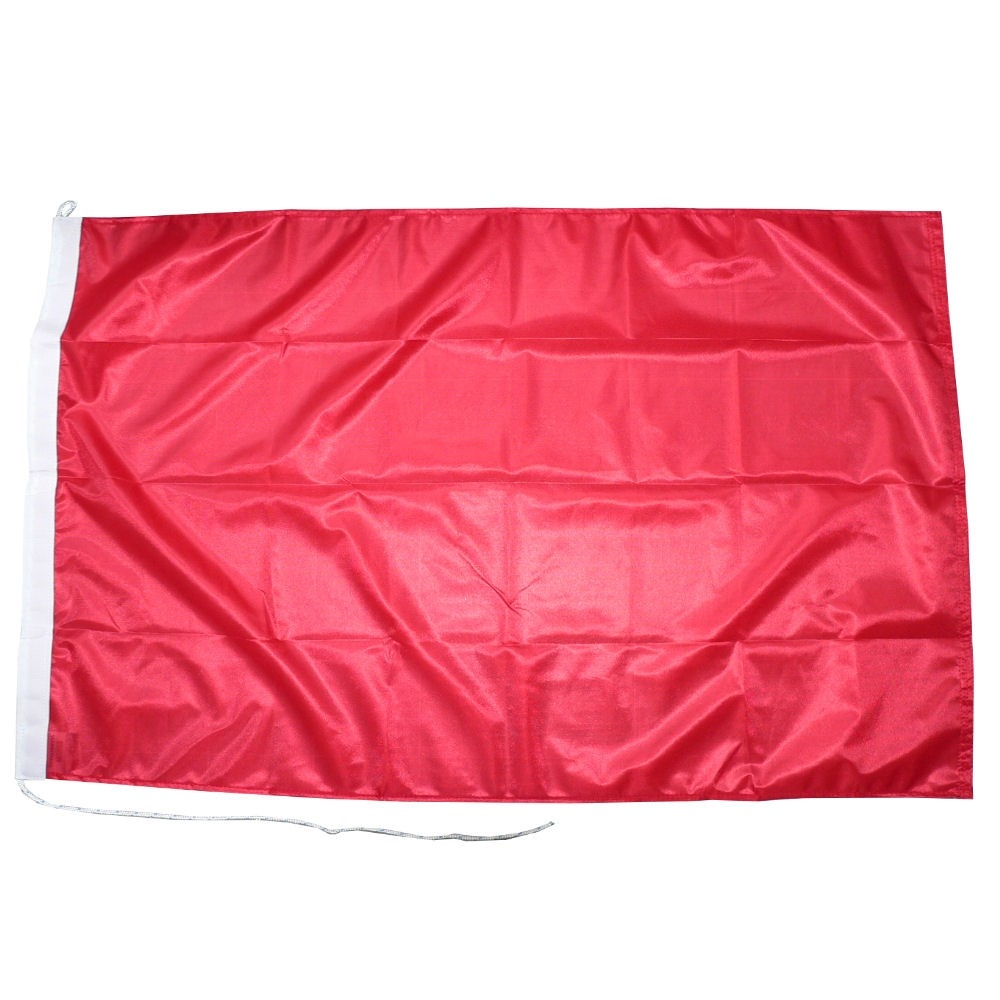 Rode autovlag autovlaggen rood luxe