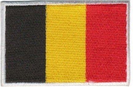 Applicatie Belgische vlag patch Belgie