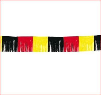 Vlaggenlijn Duitsland slinger EK voetbal feestversiering