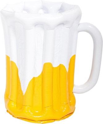 Opblaas bierpul cooler oranje WK | EK koningsdag