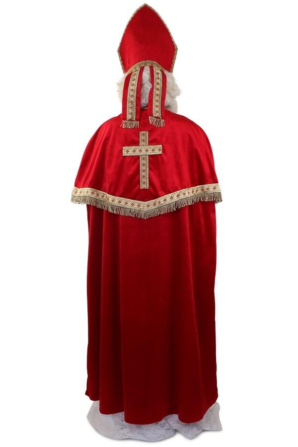Sinterklaas kostuum compleet luxe achterkant sjiek