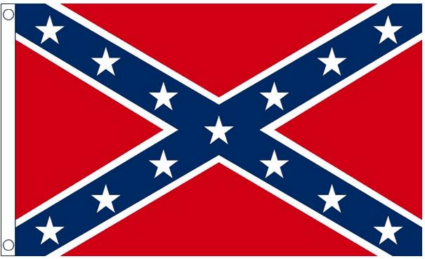 Confederate vlag 60x90cm amerika, usa