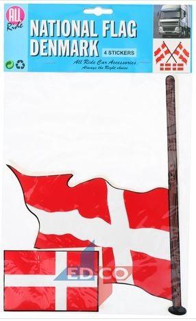 Stickers vlag Denemarken