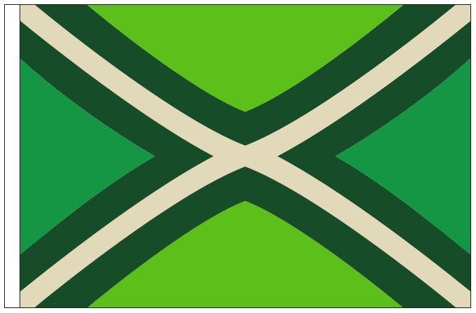 Vlag Achterhoek 200x300cm grote mastvlag Achterhoekse