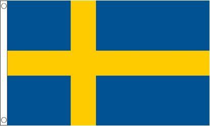 Zweedse vlag, vlaggen Zweden 90x150cm Best Value