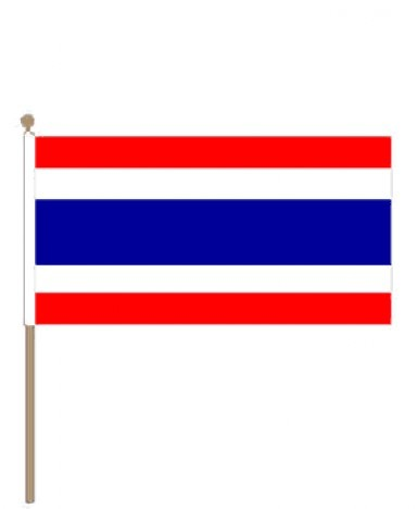 Zwaaivlag Thailand 15x22,5cm | stof