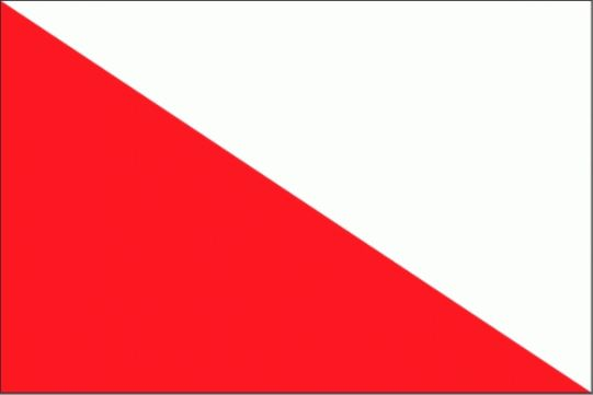 Tafelvlag Utrecht stad 10x15cm tafelvlaggetje Utrechtse stad