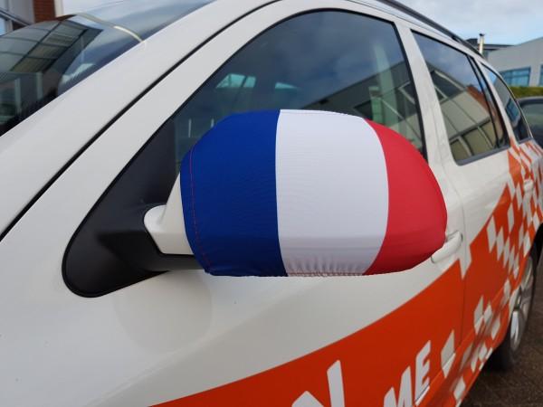 Autospiegel hoes Frankrijk | 2 stuks