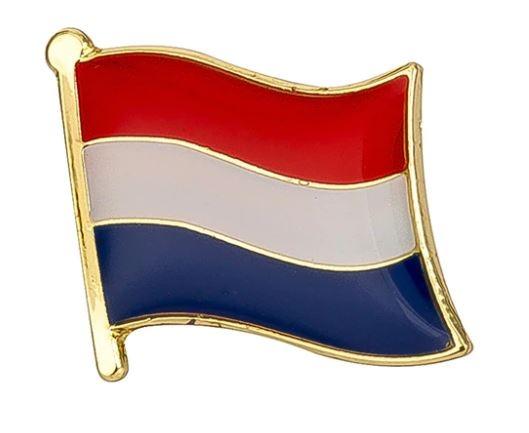 Broche / Speldje Nederlandse vlag