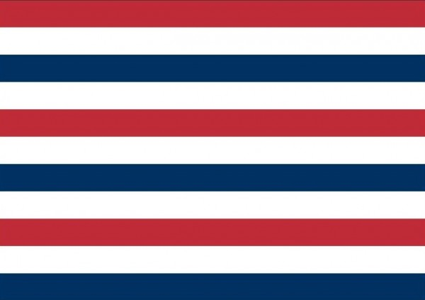 Admiraalsvlag Oud Hollandse 70x100cm variant prinsenvlag