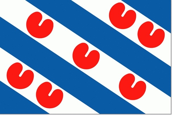 vlag 100x150cm Friesland