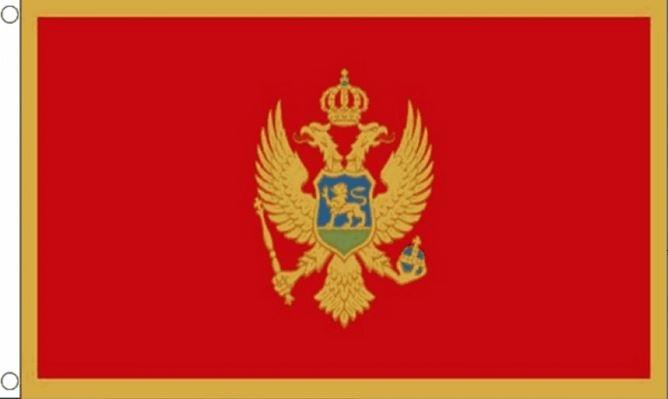 Vlag Montenegro 30x45cm