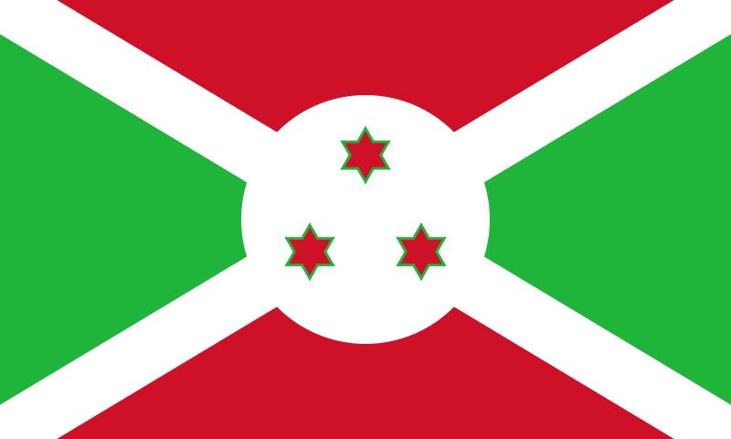 vlag Burundi 20x30cm